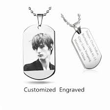 Personalized Dog Tags For Men Online Get Cheap Personalized Dog Tags Men Aliexpress Com