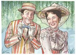 mary poppins and bert by ssava on deviantart