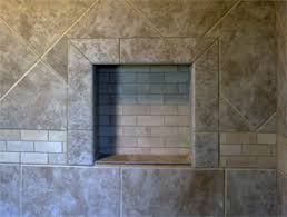 Niche Bathroom Shower Inspired Remodeling Tile Bloomington Indiana Surrounding