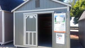 home depot outdoor storage barn rainbow end 12 u0027 x 16 u0027 youtube