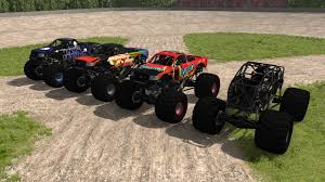 monster truck videos 2013 outdated crd monster truck beamng