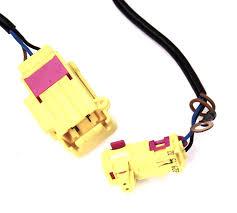 seat side airbag air bag wiring plug harness 01 05 vw passat b5 5