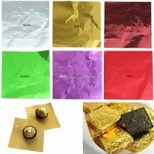package foil paper chocolate lolly foil wrappers
