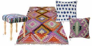 Modern Kilim Rugs Modern Global Eclectic Moodboard Interiors Via Designloversblog 1