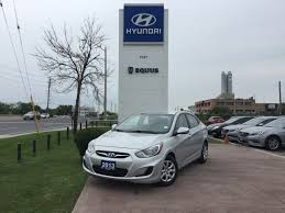 used 2013 hyundai accent for sale markham on