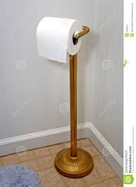toilet paper holder stock image image 2306551