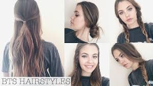 heatless hairstyles cute hairstyles simple cute easy heatless hairstyles trik and