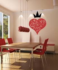vinyl wall decal sticker queen of hearts design os mb1191