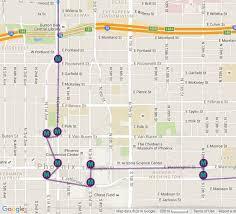 light rail to sky harbor phoenix light rail station locations and map