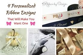 personalized ribbon 4 personalized ribbon designs that will make you want one ribbon