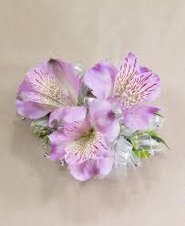 alstroemeria flower purple alstroemeria wristlet prom flowers radebaugh florist