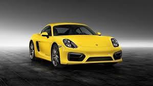yellow porsche 2015 porsche cayman s racing yellow by porsche exclusive review