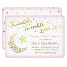 one year old invitations u0026 announcements zazzle