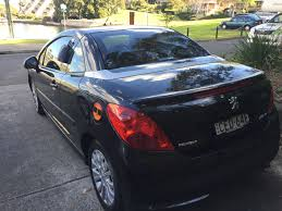 peugeot rent a car rent lyn u0027s 2007 peugeot 207cc by the hour or day in balmain nsw