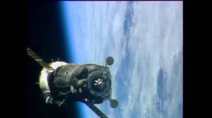 soyuz hooks up to the station youtube
