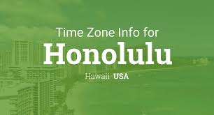 Time Zone Map United States by Daylight Saving Time Dates For Usa U2013 Hawaii U2013 Honolulu Between