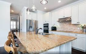 white kitchen cabinets with gold countertops white kitchen cabinets with granite countertops designing idea