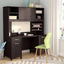 Cherry Computer Desk With Hutch Cherry Desks You U0027ll Love Wayfair