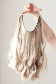 headband hair extensions cut to beauty with halo shaped headband hair extensions