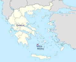 Map Of Greece Islands by File Greece Location Map Island Of Milos 2 Svg Wikimedia Commons