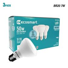 Daylight Led Light Bulbs by 50w Equivalent Daylight Br20 Dimmable Led Light Bulb 3 Pack