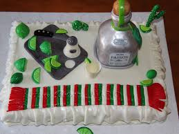 birthday tequila patron tequila cakecentral com