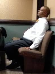 Sleeping In A Chair Trott Law Attorney Busted Dressing And Sleeping In Court