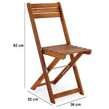 wooden furniture set balcony patio folding table chairs fsc