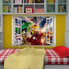 details about lego avengers 3d wall art sticker mural hulk iron details about lego avengers 3d wall art sticker mural hulk iron man america marvel boys kids