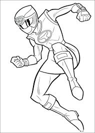 Coloriage Power Ranger Power Rangers A Power Ranger Coloriage Power