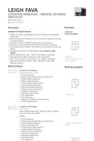 Resume For Paralegal With No Experience Paralegal Resume Samples Visualcv Resume Samples Database