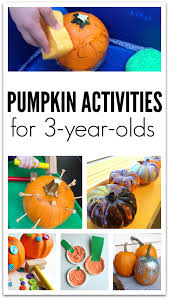 pumpkin crafts and activities for 3 year olds no time for flash