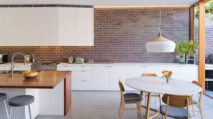 7 kitchen designs with exposed brick