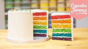 hervé cuisine rainbow cake how to rainbow cake healthyrise com