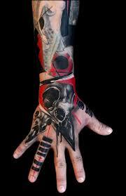 hand tattoo by buena vista tattoo club