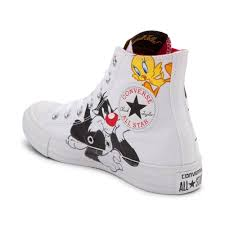 converse chuck taylor star looney tunes sylvestertweety