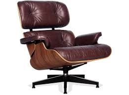 vintage eames lounge chair and ottoman replica eames lounge chair vintage brown