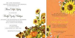Sunflower Wedding Invitations Sunflower Wedding Invitations Archives Happyinvitation Com