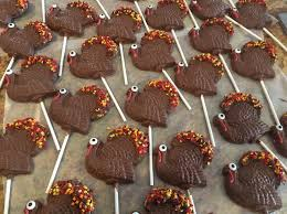 how to make chocolate turkey lollipops for thanksgiving recipe