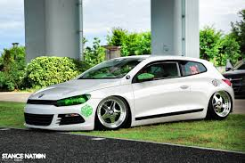 volkswagen scirocco r 2016 japanese scirocco sitting right stancenation form u003e function