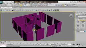 3ds max house modeling tutorial interior building wall design