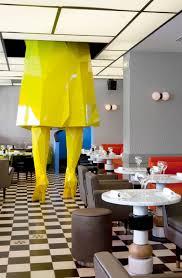 cafe interior design india germain by india mahdavi yatzer