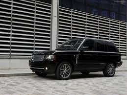 range rover autobiography custom land rover range rover black edition 2011 exotic car picture 13
