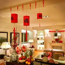 Cny Home Decoration   chinese new year living room decorations meliving ae65aecd30d3