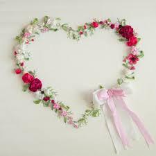 silk ribbon embroidery heart silk ribbon embroidery kit laurelin