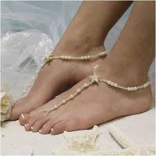 barefoot sandals wedding starfish gold barefoot sandals wedding pearl catherine