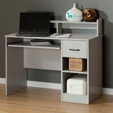 Computer Desk With Filing Cabinet by Gray Desks You U0027ll Love Wayfair