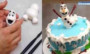olaf frozen cake how to make by cakes stepbystep youtube