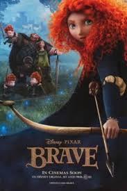 brave princess merida disney pixar movie poster photo