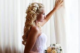 wedding hairstyles for medium length hair half up half up wedding hairstyles for medium length hair with flowers